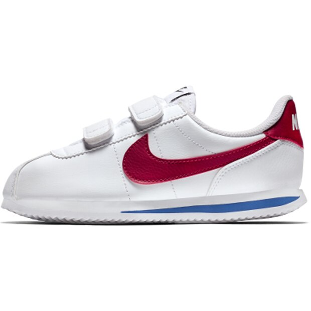 Nike Cortez Basic SL PSV 童鞋 中童 阿甘 魔鬼氈 白藍紅 【運動世界】 904767-103