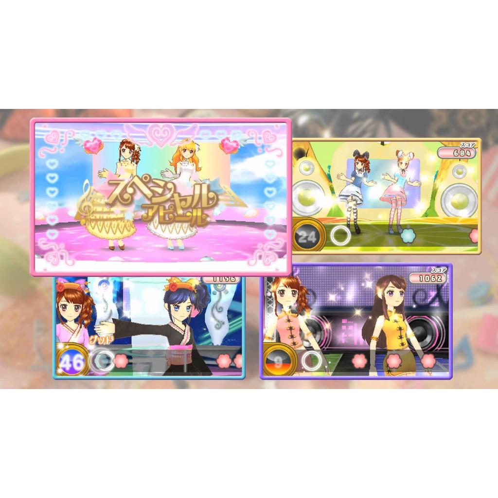 【預購】日本進口日版 全新  Aikatsu! 任天堂 偶像學園 Princes Lesson! 3DS N3DS【星野日本玩具】 5