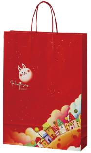 【基本量】手提袋/ 幸福月兔 /200個