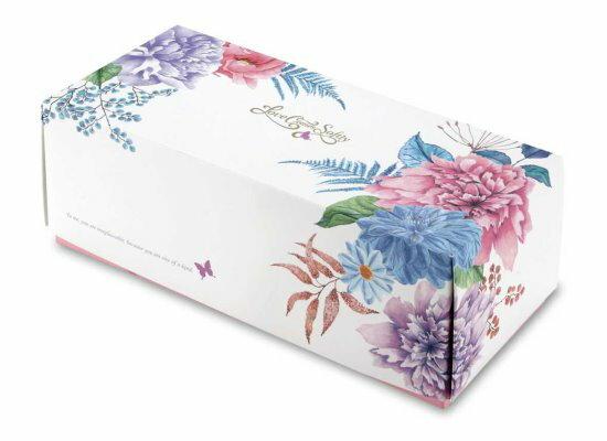 【基本量】奶凍卷盒愛在春天粉紅200個