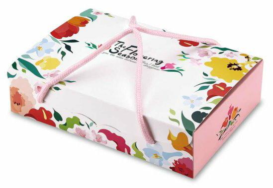 【基本量】手提6入盒.花開季節.粉紅色(200入)