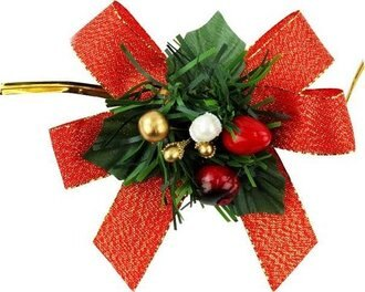 【基本量】聖誕飾品-紅 / 200個