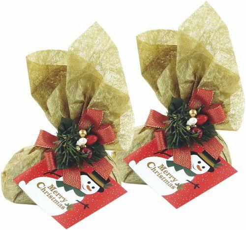 【零售量】聖誕系列.不織布包裝紙(金色) /100套