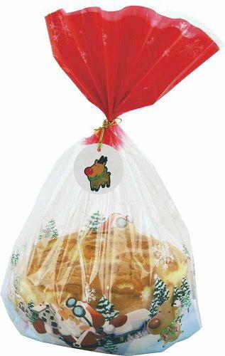 【零售量】聖誕節塑膠袋 2色 / 100個