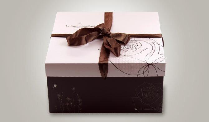 【基本量】手提方型蛋糕盒/感官花園粉紅12號/100個