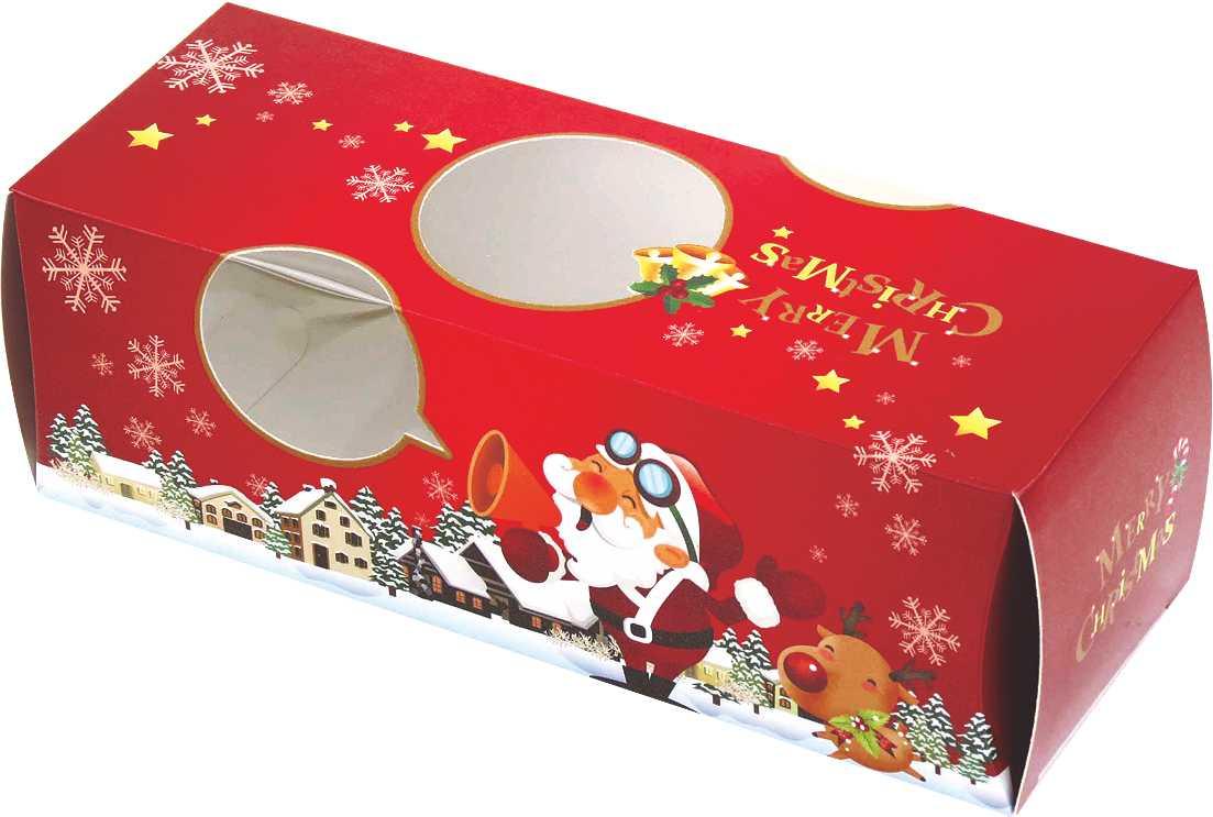 【零售量】聖誕奶凍卷盒 ( 50入 )