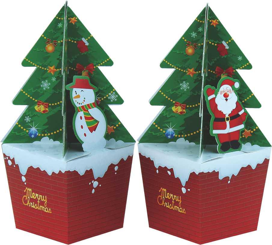【基本量】聖誕樹盒 ( 200入 )