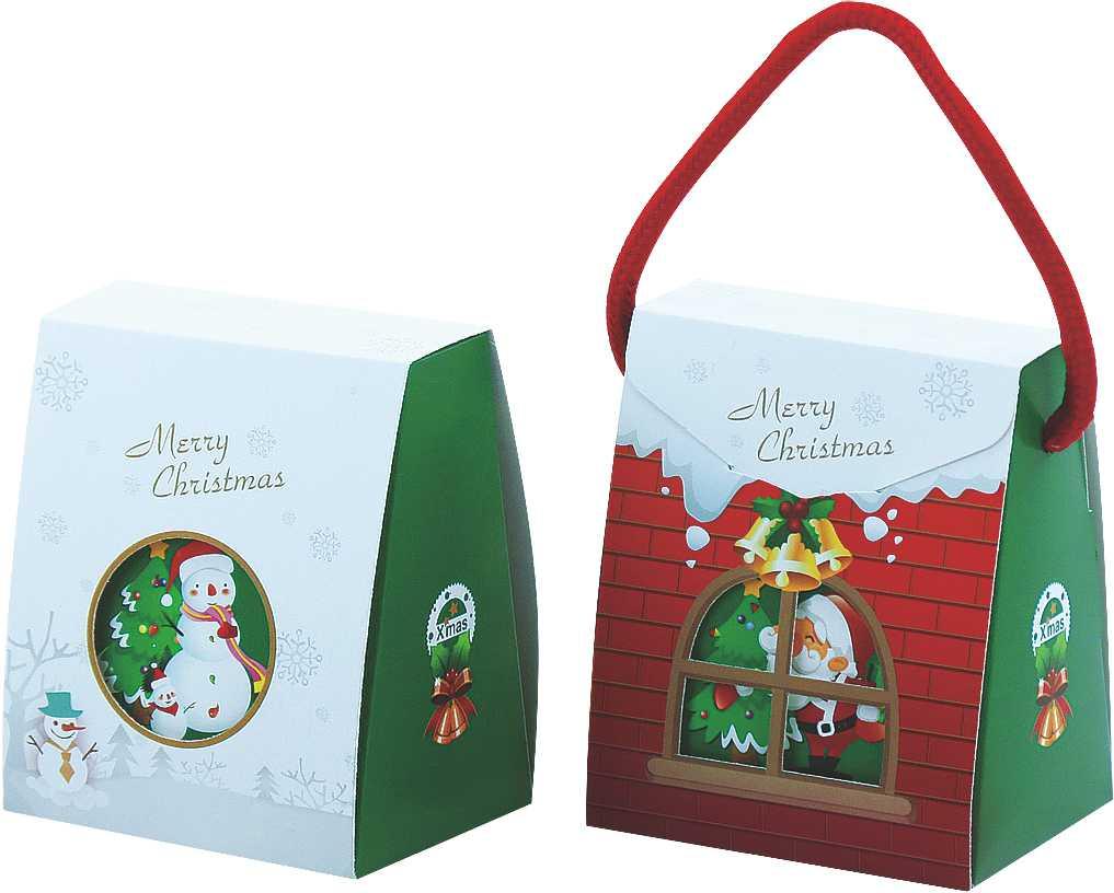 [優惠價量]聖誕小屋盒( 1200入 )
