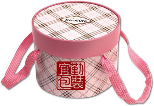 【基本量】蘇格蘭圓筒盒18CM/粉紅/60個