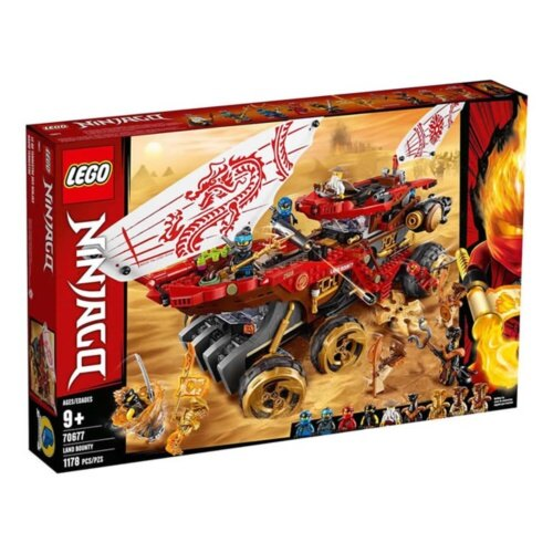 樂高LEGO 70677  NINJAGO 旋風忍者系列 -土地賞金號裝甲車 - 限時優惠好康折扣
