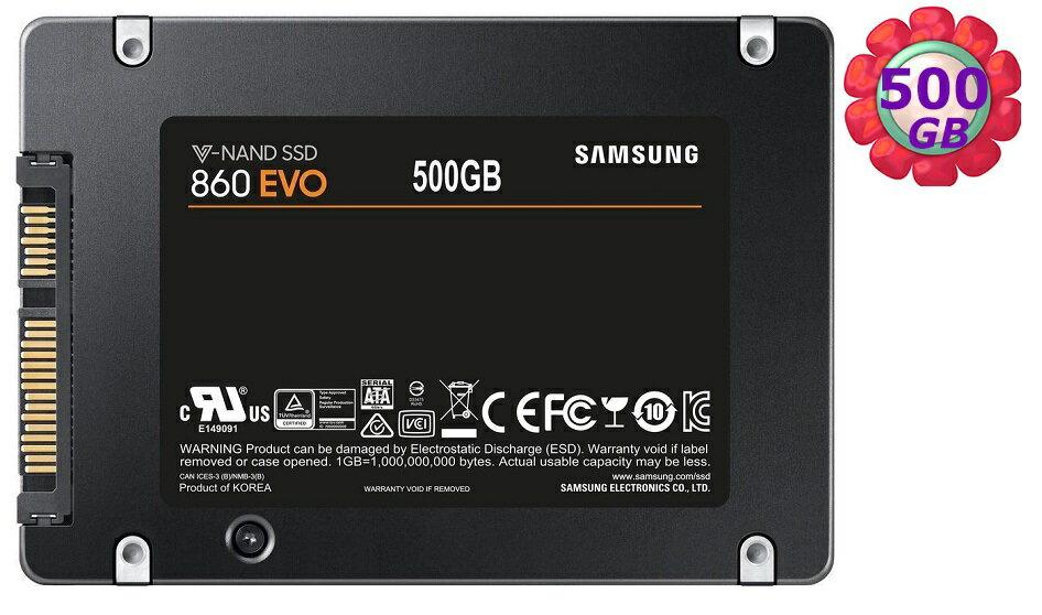 SAMSUNG 500GB 500G 2.5  SSD 三星~860 EVO~MZ~76E