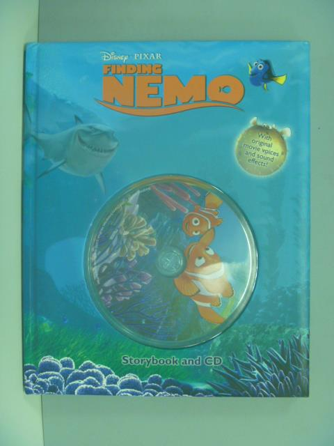 ~書寶 書T4/少年童書_ZEG~Finding Nemo : storybook and
