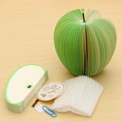PS Mall 可愛立體水果造型便條紙 便利貼 N次貼 便籤 留言紙【J651】