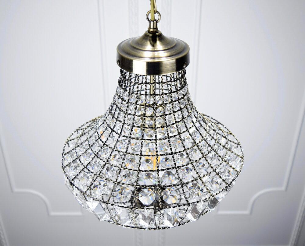 古銅提籠水晶吊燈-BNL00106 3