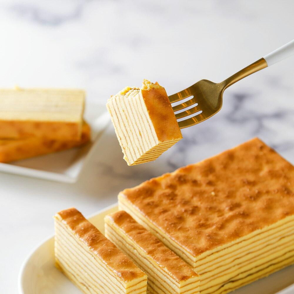 含運-艾波索【楓糖千層蛋糕】手工層層堆疊,大受歡迎的濃郁紮實口感