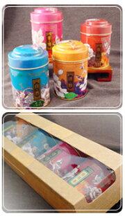 茗品禮盒組四種口味--新純香特製三角立體茶包