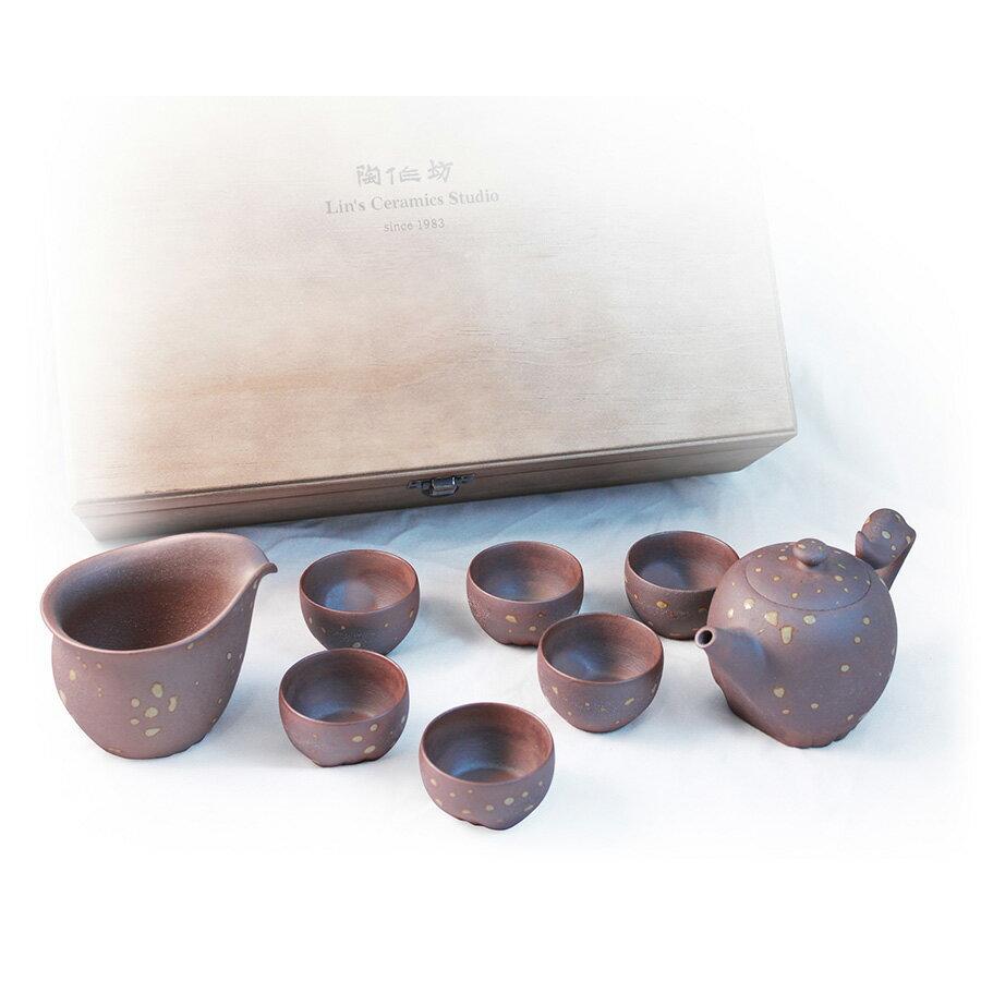 甲午馬年紀念新品「奔騰」老岩泥茶器組(不含方闊濡茶盤)