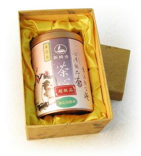 凍頂烏龍茶-超級品(清香)150g單罐小花手工禮盒