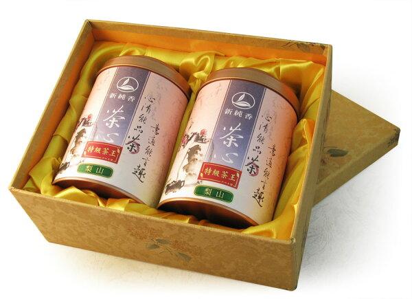 梨山茶-特級茶王(150g雙罐精裝禮盒)