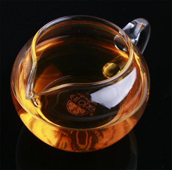 蘋果型玻璃茶海(300ml)