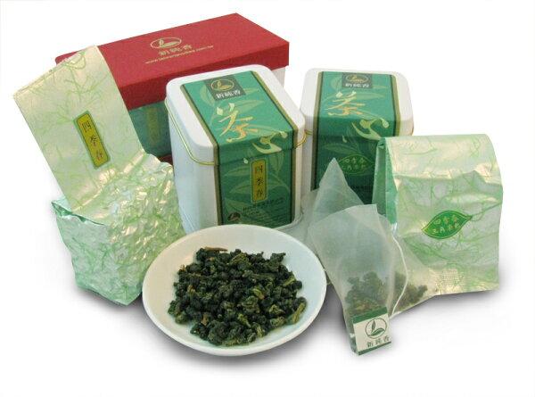 ✌團購我最樂✌最佳伴手禮組合-高山四季春茶✙四季春三角立體茶包一次購買10組