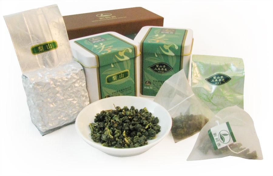 最佳伴手禮組合-梨山高山茶✙梨山茶三角立體茶包