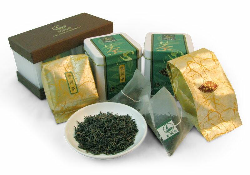 [一次購買50組] 最佳伴手禮組合-普洱茶✙普洱茶三角立體茶包
