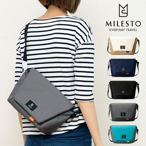 日本MILESTO / 潮流斜揹包 郵差包 Hutte S / MLS463 /hotch-potch-00010369_mls463-日本必買 日本樂天直送(5184)。件件免運