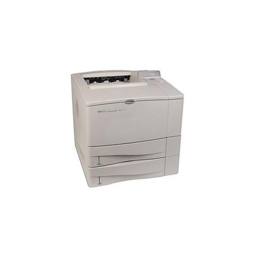 HP LaserJet 4000TN Parallel/Serial/Ethernet Monochrome Laser Printer w/Toner