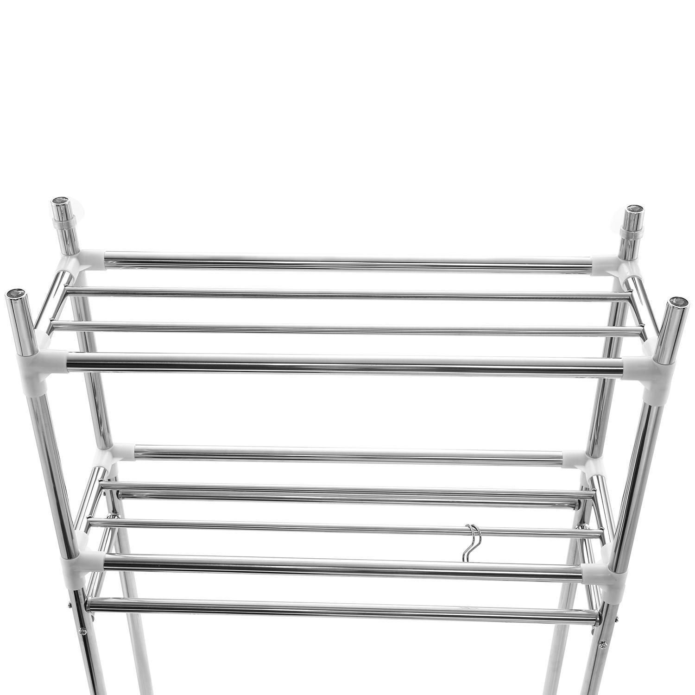 Washing Machine/Laundry/Toilet/Bathroom Storage Rack Shelf Organizer 3