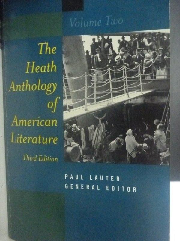 【書寶二手書T4/文學_XEJ】The Heath Anthology of American