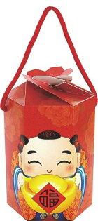 宜勤包裝股份有限公司:【基本量]樂迎春六角盒2色200個