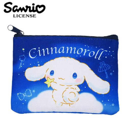 【日本正版】大耳狗 零錢面紙包 零錢包 卡片包 收納包 喜拿 Cinnamoroll 三麗鷗 Sanrio - 450915