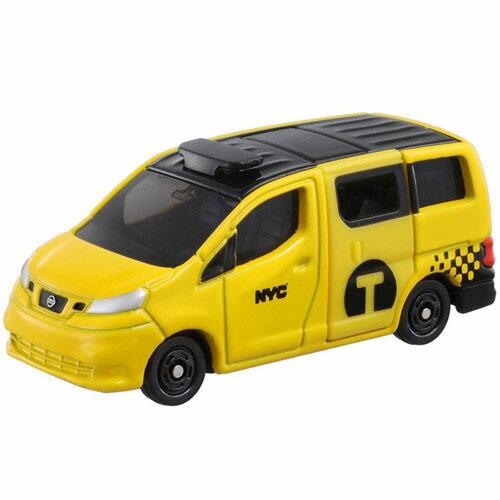 東喬精品百貨商城:【TOMICA火柴盒小汽車】TM027日產NV200紐約計程車
