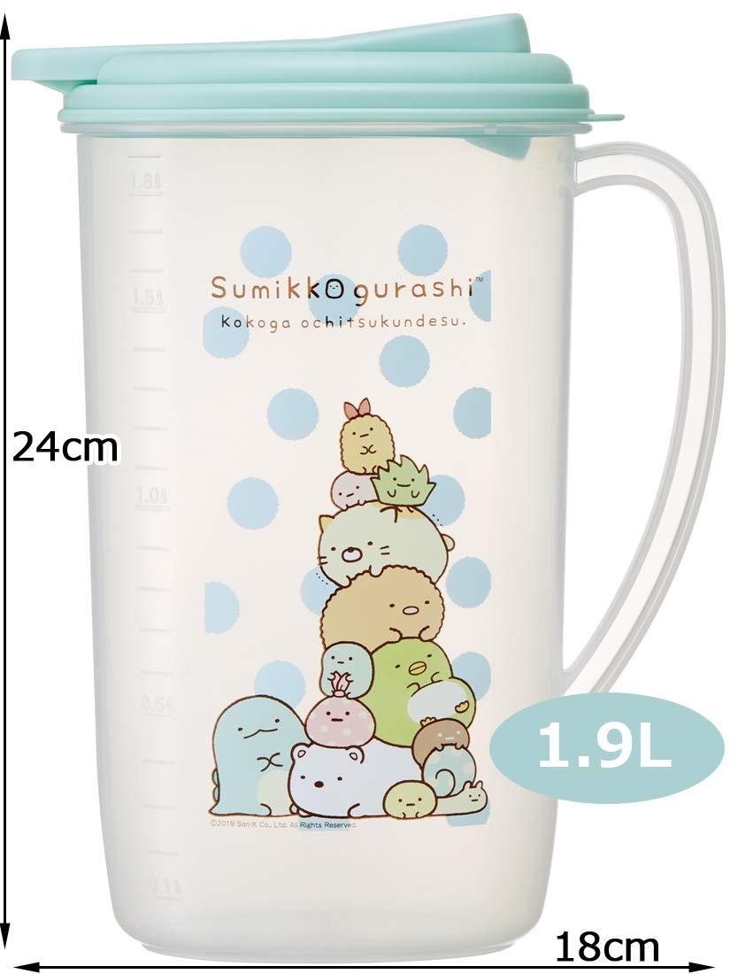 角落生物 Sumikko Gurashi 塑膠冷水壺1.9L,水瓶/水壺/水罐,X射線【C425646】