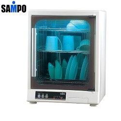【SAMPO聲寶】三層光觸媒紫外線烘碗機 KB-GD65U