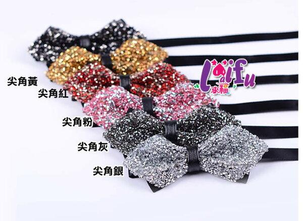 來福:來福領結,K1082領結水鑽明治領結結婚領結新郞領結派對糾糾,售價280元