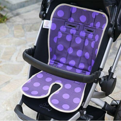 ★衛立兒生活館★Baby Seater嬰兒專用涼感墊推車涼墊(摩登紫)+日本專利保冰袋