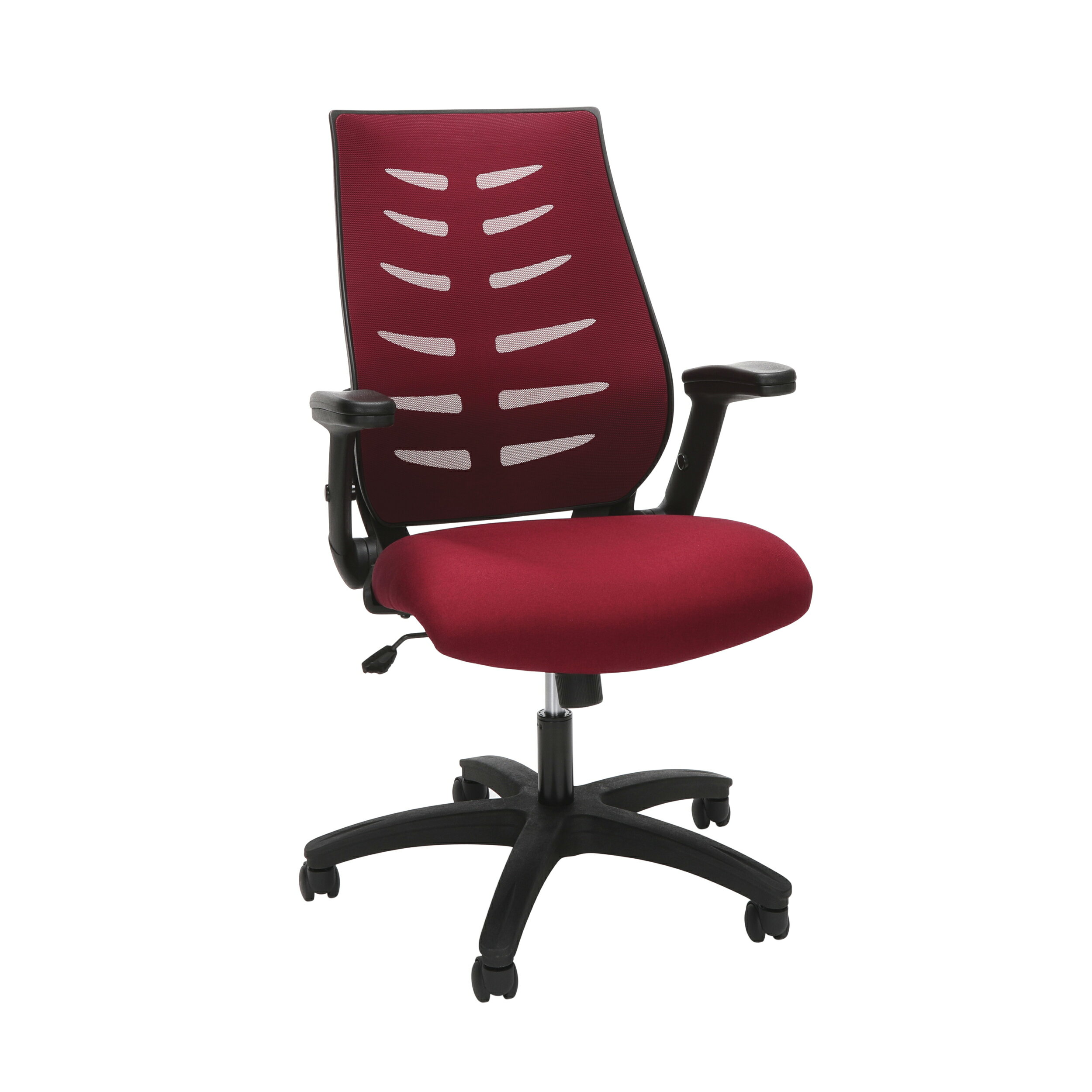 Astounding Ofm Model 530 Burg Core Collection Midback Mesh Office Chair For Computer Desk Burgundy Machost Co Dining Chair Design Ideas Machostcouk