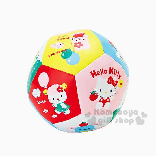 〔小禮堂嬰幼館〕Hello Kitty 小皮球玩具《朋友滿版.音符》適合3歲以上孩童