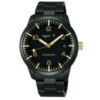 agnès b.眼鏡推薦到agnes b Y675-00J0G(BK9010J1)黑金背透時尚機械腕錶/黑面40mm就在大高雄鐘錶城推薦agnès b.眼鏡