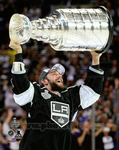 Alec Martinez with the Stanley Cup Game 5 of the 2014 Stanley Cup Finals Photo Print (11 x 14) 33111a6c9fcc1f4e8925918bad899acf