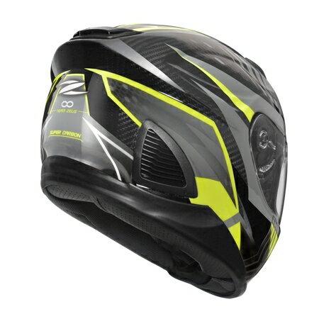 任我型騎士部品 ZEUS 1600 AK6 灰 亮光 碳纖維 全罩 安全帽 送好禮五選一