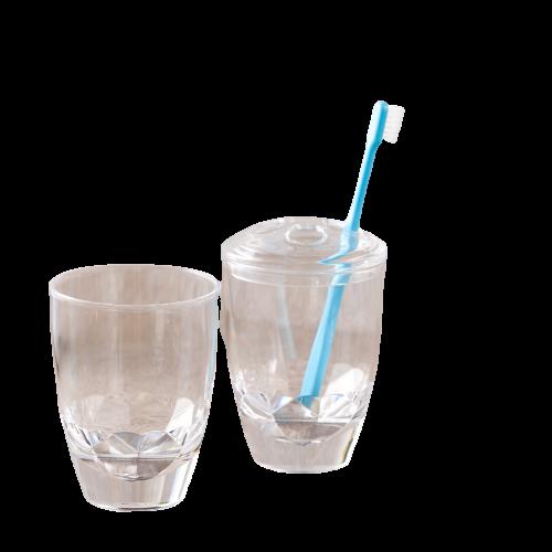 底鑽石  牙刷架 1入 (8.5CMX11CM)