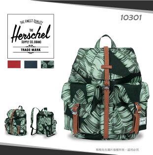 《熊熊先生》Herschel加拿大潮流品牌小型後背包DawsonXs休閒包外出包帆布雙肩包書包可調式寬版背帶10301