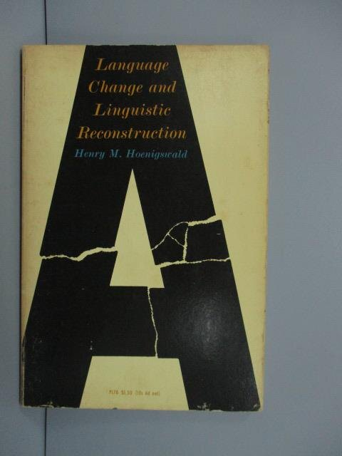 【書寶二手書T1/語言學習_MSA】Language Change and Linguistic..._1960
