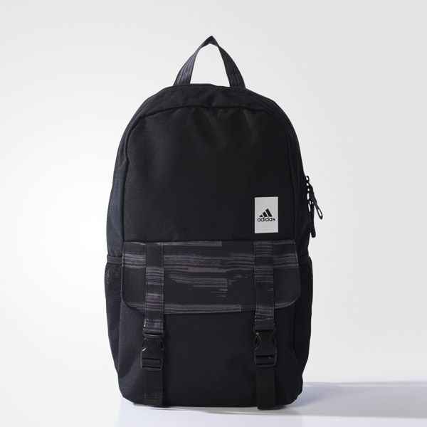 ADIDAS Large Heather Classic Backpack 後背包 雙肩 休閒 黑 灰 【運動世界】 S99851