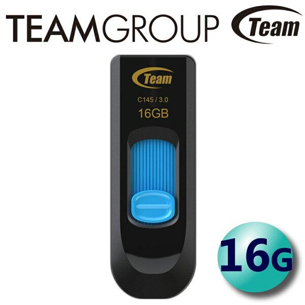 Team十銓16GBC145USB3.0隨身碟伸縮式