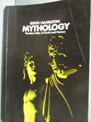 【書寶二手書T2/原文小說_LFL】MYTHOLOGY_Edith Hamilton