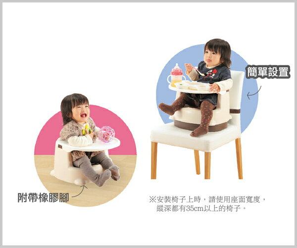 Richell利其爾 - 兩用型便利椅 (粉) 5
